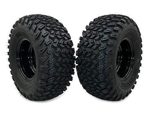 MowerPartsGroup (2) Bad Boy ZT Elite Rear Wheel Assemblies 22x11.00-10 Replaces 022-2014-00 (Elite Rear Wheel)