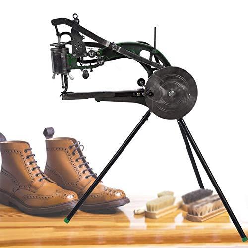 FOLOSAFENAR Máquina de reparación de Zapatos con Marco de enrollamiento fácil de Usar Kit de máquina de reparación de Zapatos de Tipo Antiguo Tecnología de procesamiento única para Zapatos de Tela