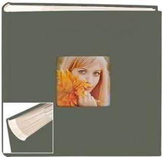 BOOKCLOTH GREEN 2-Up Flex Album for 4x6/5x7 prints by Nielsen-Bainbridge - 4x6