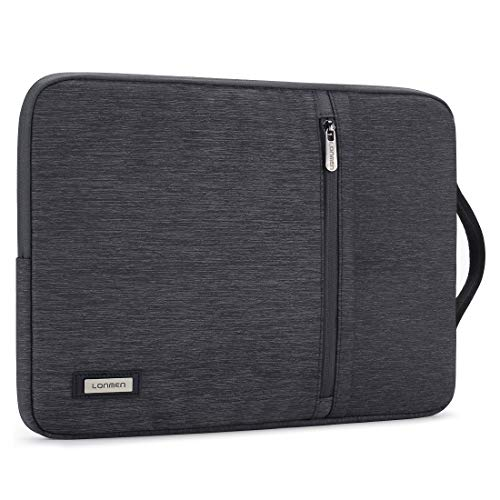 LONMEN 12.5-13 inch Laptop Sleeve Case Water-Resistant Handle Bag for MacBook Pro Touch Bar/iPad Pro/Lenovo ThinkPad X1 Tablet/Dell Latitude 7290/ASUS ZenBook 13 UX331UN/13.9' Huawei MateBook X Pro