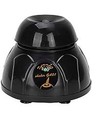 Mini Vortex Mixer, Elektrische Shaker Mixer, Micro Paint Mixer, Nagellak Uv Gel Vortex Mixer, 10 Seconden Gelijkmatig Schudden, voor Nagellak Tattoo-inkt, Zwart (100-240V)
