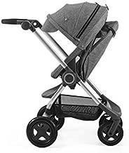 StokkeScoot Complete Stroller, Black Melange