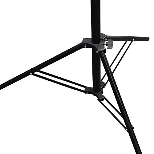 LimoStudio Premium Barn Door LED Accent Light 4500Lm / 5700K / 50W with Power Cable, On/Off Switch, Fuse Socket and Tripod Light Stand, Photography Studio, AGG1838