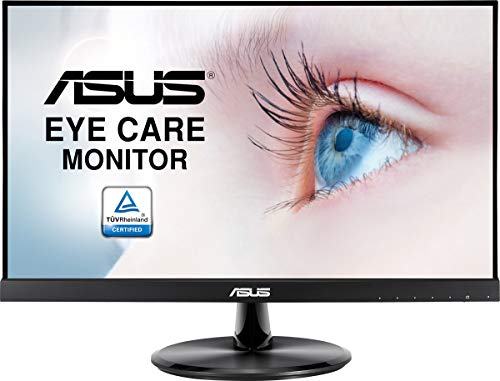 "ASUS VP229Q Monitor Eye Care ASUS VP229Q: 21.5"", FHD (1920 x 1080), IPS, Sin Marco, 75 Hz, Adaptive-Sync/FreeSync, DisplayPort, HDMI, Eye Care, Luz Azul de Baja Intensidad, Antiparpadeo"
