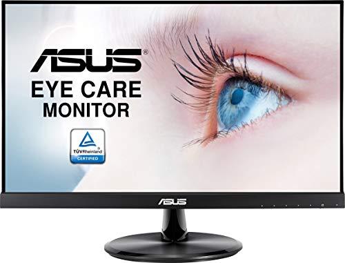 ASUS VP229Q 54,6cm (21,5 Zoll) Eye Care Monitor (Full HD, IPS, 75Hz, Adaptive-Sync/FreeSync, HDMI, VGA, DisplayPort, 5ms Reaktionszeit) schwarz