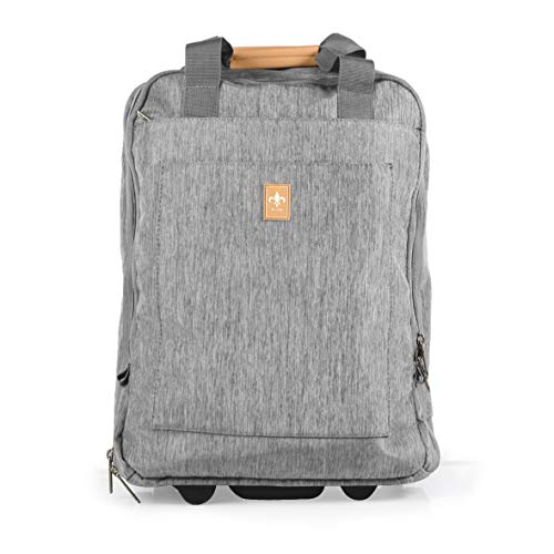 Cabin or Trolley Suitcase with Wheels 46.5 cm Man Woman Child School Work Travel