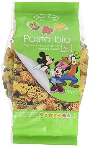 Dalla Costa Mickey Mouse tricolore BIO Nudeln, 6er Pack (6 x 300 g)