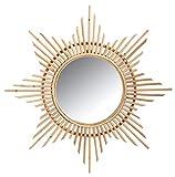 Miroir Etoile en Rotin 65 cm ( Catégorie : Miroir )