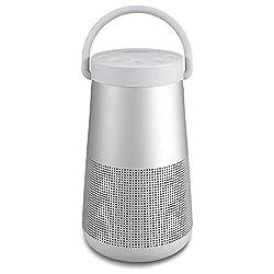 La bonne enceinte portable de Boseoffre un son époustouflant, puissant et profond, diffusé à 360° Le micro intégré permet de bénéficier d'une fonctionnalité mains-libres et d'une portée sans fil d'environ 9m pour les appels personnels ou les confér...