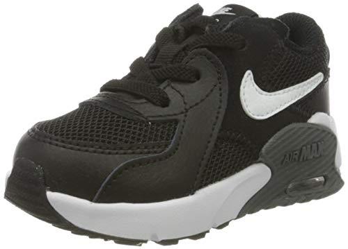 Nike Unisex Baby Air Max Excee (TD) Sneaker, Black/White-Dark Grey, 25 EU