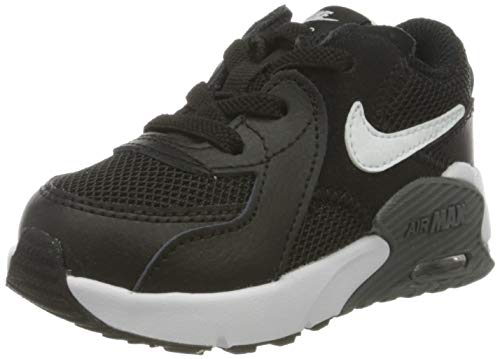 Nike Unisex Kinder Air Max Excee (TD) Sneaker, Black/White-Dark Grey, 25 EU