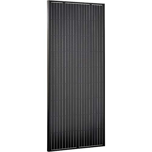 ECTIVE 180W Solar-Modul Monokristallin 12V Black Edition Solarzelle für Photovoltaik in 4 Varianten 80-180 Watt