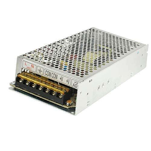 X-DREE Adaptador de fuente de alimentación conmutada AC 110 / 220V DC 24V 5A 120W para LED (Adaptateur d'alimentation à découpage CA 110 / 220V CC 24V 5A 120W pour LED