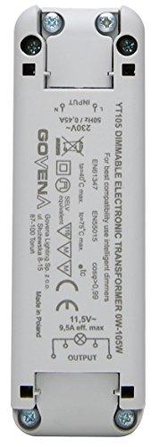 Kopp 202510093 Elektronischer Transformator 105W/VA