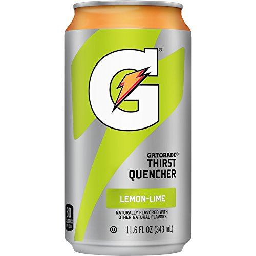 Gatorade Thirst Quencher, Lemon Lime, 24 Count, 11.6 oz Cans