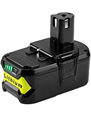 Powilling 18 V 5000 mAh akumulator litowo-jonowy zamiennik do Ryobi ONE + 18 V P108 P107 P104 P105 P102 P103 narzędzia