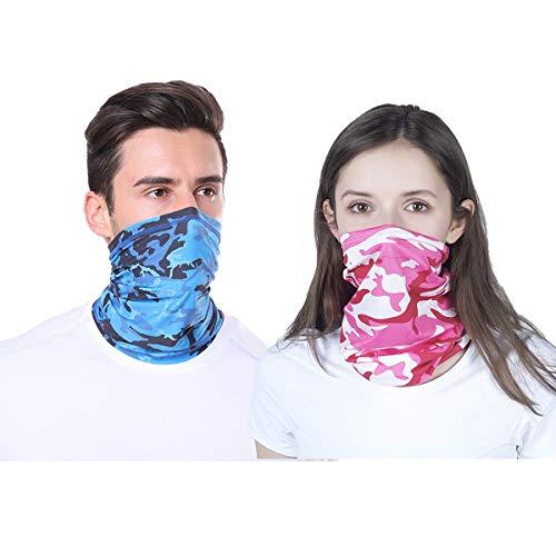 Pañuelo multifuncional unisex para la cabeza, diademas, snoods para mujeres, para hombre, cuello pulido, máscara facial de bandana, polaina, calentador de cuello.