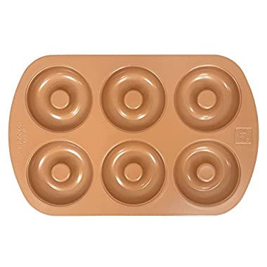 Red Copper Bakeware Set (Donut Pan)