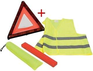 Auto-Fahrzeug-Notzusammenbruch-Warnzeichen-Dreieck-reflektierende Verkehrssicherheit