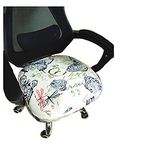Zerci Stretch Stuhlhussen für Bürostuhl, Computerstuhl, Zuhause, Schreibtischstuhl, Sitzkissen, Stuhlhussen, Rice White, Einheitsgröße (Nur Stuhlüberzug, Kein Stuhl)