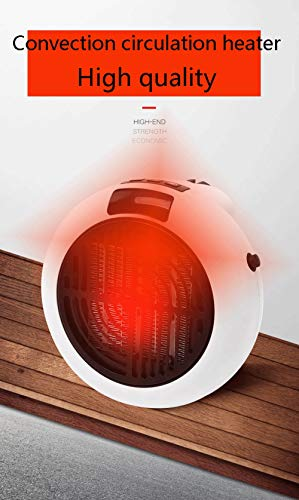 FNGRE Desktop-Raumheizgerät, tragbares Keramikheizgerät für Wohnheime im Büro, Personal-Heizgerät mit Überhitzungsschutz und Fernsteuerungs- / Zeitsteuerungstechnologie