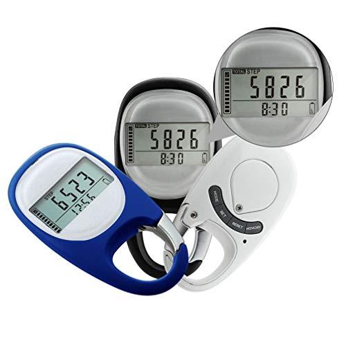 WINOMO Mini Schrittzähler Clips Gehen Schritte Counter Einfache Pedometer Bedienung Testsieger Schritt Distanz Kalorien Zähler Fitness für Outdoor Sport Zubehör Zufällige Farbe
