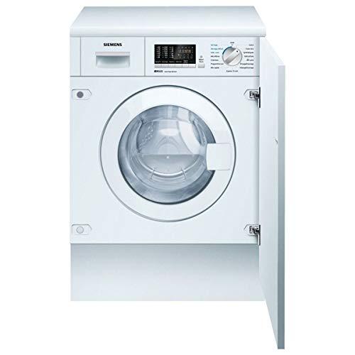 Siemens iQ500 WK14D541FF lavadora Carga frontal Integrado Blanco B - Lavadora-secadora (Carga frontal, Integrado, Blanco, Izquierda, Acero inoxidable, Frío, Caliente)