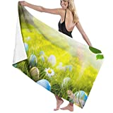 MKLQ Toalla Pool Bath Towel Foggy Forest Beach Towel Oversized Swim Shower Children Blanket Ultra Soft Boat Outdoors Cloth