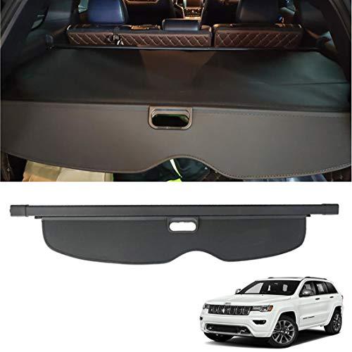 CMHZJ Retrattile Auto Bagagli Protezione Coperchio per Jeep Grand Cherokee 2011-2016, Nero Portabagagli Posteriore Tronco Privacy Cappelliera, Auto Accessori Interni
