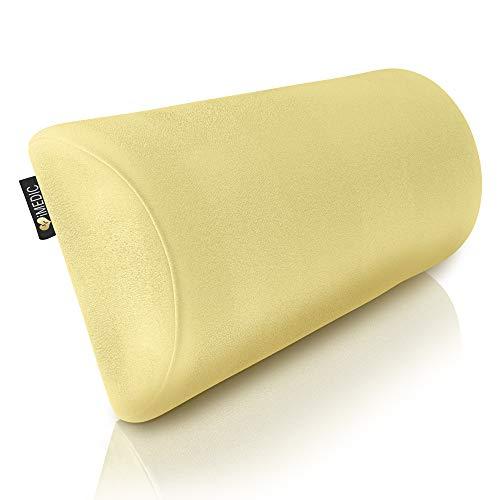 DIY Doctor Medipaq - Halbmond Memory Foam Kissen - Kniekissen für Seitenschläfer, Nacken, unteren Rücken, Knie, Beine, Füße (Weicher Cremefarbener Frottee)