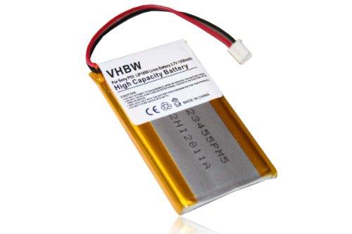 vhbw Akku passend für Sony Playstation 3 PS3 Sixaxis & DualShock 3 Wireless Controller ersetzt Lip1359, Lip1472, Lip1859 - (Li-Ion, 950mAh, 3.7V)