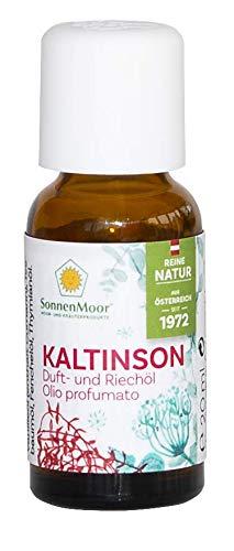 SonnenMoor Kaltinson Duft und Riechöl flüssig 20 ml - für angenehmes, reinigendes Raumklima und zur Unterstützung der Atemwege