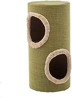 Pet bed,Cat Climbing Frame, Cat Litter Cat Jumping Platform Cat Tunnel Cat Scratch Board Cat Tree Linen Cat Hole Cat Chann...