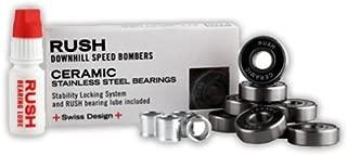 Rush Downhill Speed Bombers Ceramic Stainless Steel Black Balls Bearings