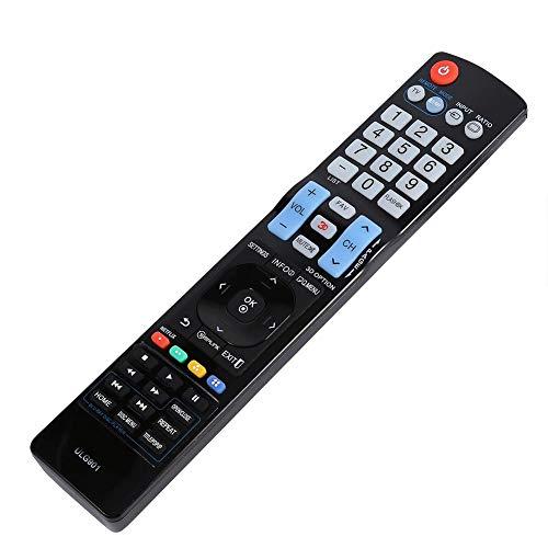 Socobeta TV Control Remoto Universal Reemplazo de TV Control Remoto Control Remoto de TV Compatible con LG 3D Smart TV