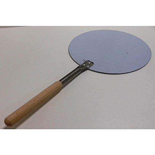 Fimel Pelle à pizza en acier et manche en bois Diamètre 32 cm
