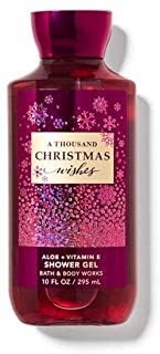 Bath and Body Works A Thousand Christmas Wishes Shower Gel Wash 10 Ounce Limited Edition Scent