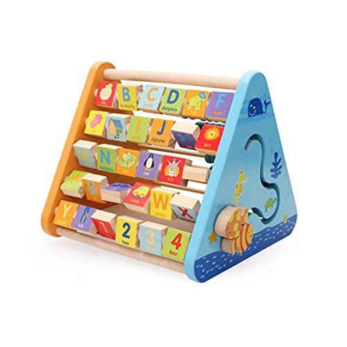 Calculadora Alfabeto Ábaco Clásico De Madera Juguete Educativo Letras Coloridas Animales Y Abacus Actividad De Aprendizaje Niño Regalo Calculadoras Básicas