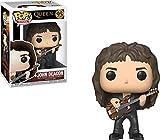 Funko- Figurines Pop Vinyl - Rocks: Queen: John Deacon Collectible Figure, 33728, Multcolour