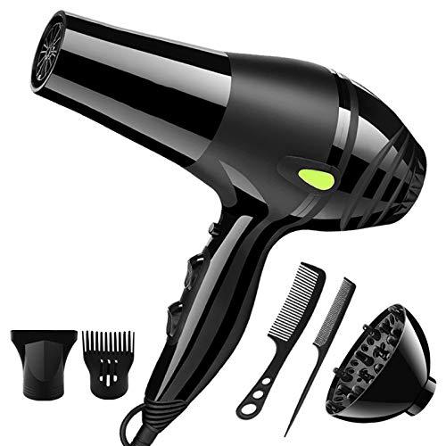 JYL Profesional 2500w Secador de Pelo de Alta Potencia para el hogar peluquería peluquería Secador de Pelo y voluminizador...