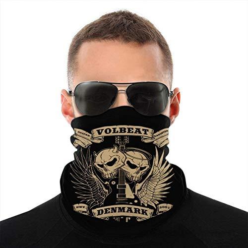 Volbeat Poster Gesichtsmaske, Stirnband, Schal & ndash; Großartiger Sonnenschutz im Sommer und Winter & ndash; Zum Angeln, Segeln, Skifahren den ganzen Sommer- und Wintersport