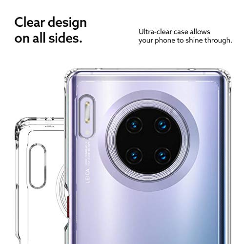 Caseology Waterfall, Kompatibel mit Huawei Mate 30 Pro Hülle Transparent Durchsichtig, Handyhülle Huawei Mate 30 Pro (Crystal Clear) - 5