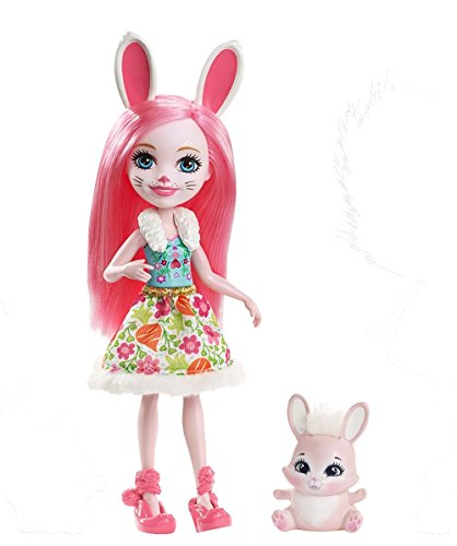 Mattel- Muñeca básica enchantimal, (88DVH)