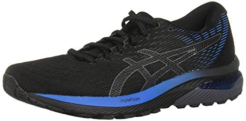 ASICS Men's Gel-Cumulus 22 Running Shoes, 10.5, Black/Directoire Blue