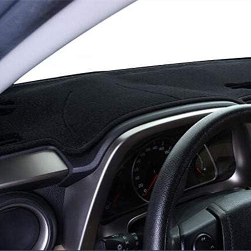 WNHSNM Car Dashboard Cover Dash Mat Pad for for Ford F-150 F150 Lobo Raptor 2009-2014 Dashmat Auto Non-Slip Sunshade Pad Carpet Accessories Color : Black Edge