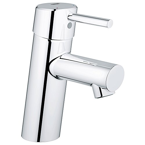 Concetto S-Size Single-Handle Single-Hole Bathroom Faucet Without Pop-Up - 1.2 GPM