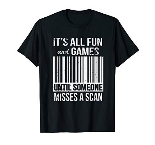 Funny Misses A Scan Postal Worker T-Shirt