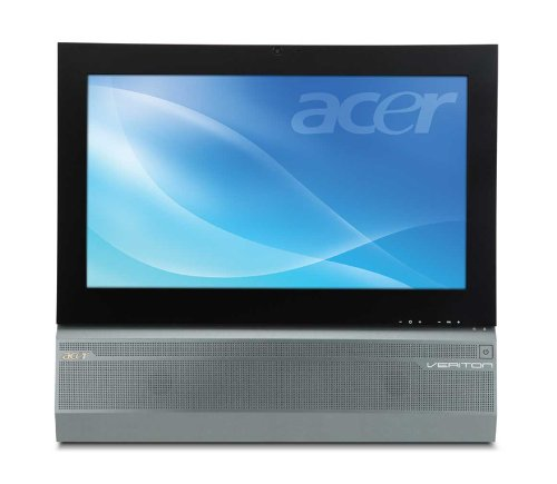 Acer Veriton Z431G-Ui5650W 21.5-Inch All-In-One TouchScreen Desktop - Silver