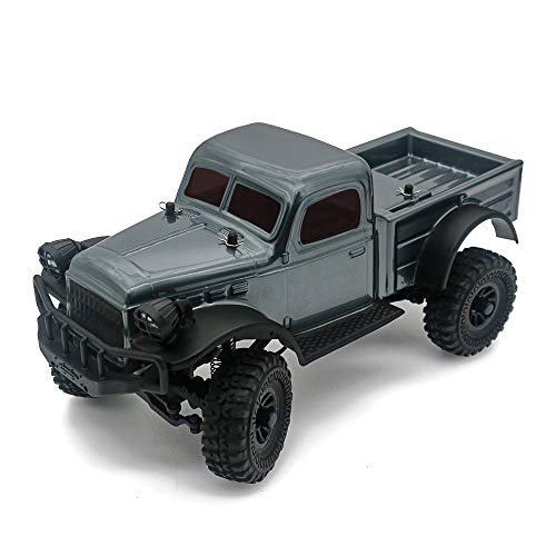 Panda Hobby Sport Tetra K1 1/18 RTR Scale 4x4 Rock Crawler 4wd Off-Road Vehicle (Gunmetal Grey)