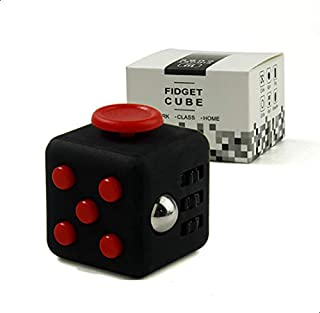 Mini Fidget Cube Toy Vinyl Desk Finger Toys Squeeze Fun Stress Reliever 3.3cm Hand Spinner Antistress Cubo - 2724445508027
